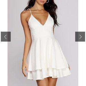 windsor white lace dress